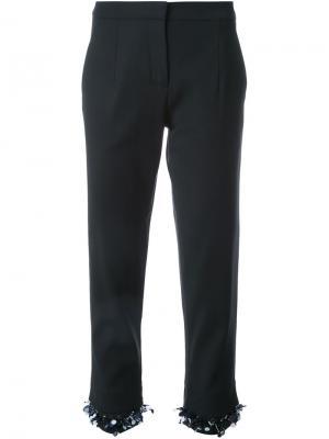 Укороченные брюки Mother Of Pearl. Цвет: чёрный