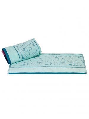 Махровое полотенце 70x140 SULTAN минт,100% хлопок HOBBY HOME COLLECTION. Цвет: светло-зеленый