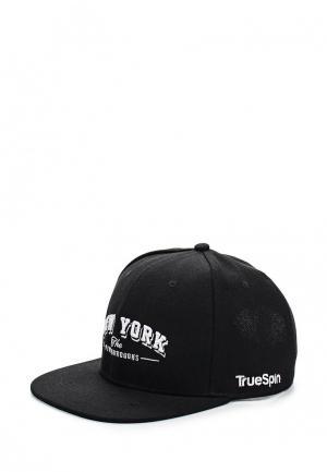 Бейсболка True Spin. Цвет: черный