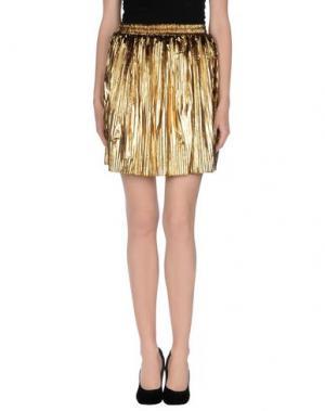 Мини-юбка BAGUETTE...... Цвет: золотистый