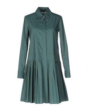 Короткое платье DAKS LONDON. Цвет: зеленый