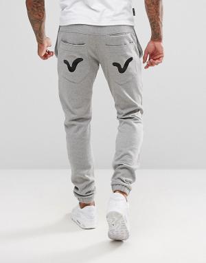 Voi Jeans Джоггеры. Цвет: серый
