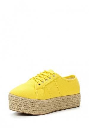 Ботинки Coco Perla. Цвет: желтый