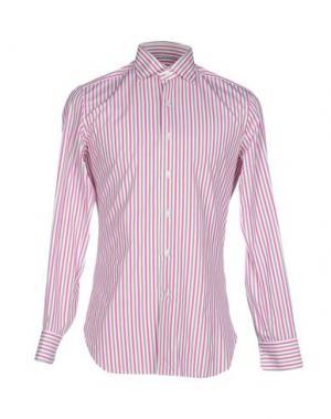 Pубашка ALESSANDRO GHERARDI. Цвет: фуксия
