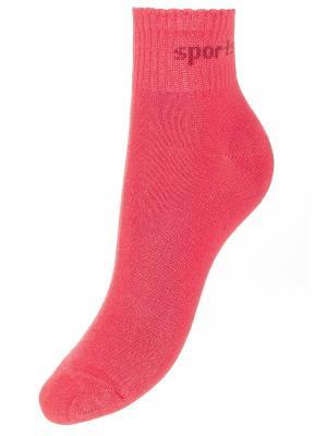 Носки BAYKAR. Цвет: коралловый
