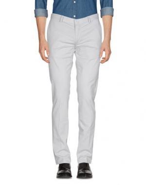 Повседневные брюки JAGGY. Цвет: светло-серый