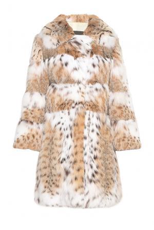 Шуба из меха рыси BOB CAT 154870 Pt Quality Furs. Цвет: разноцветный