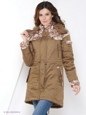 Куртка-парка DizzyWay. Цвет: хаки