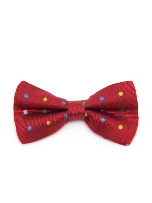 Галстук-бабочка Churchill accessories. Цвет: красный, желтый, темно-синий, синий