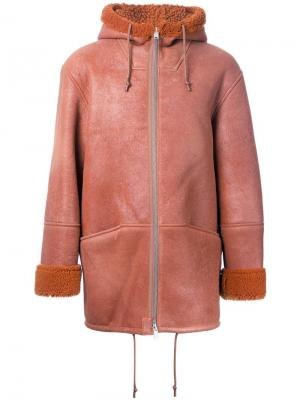 Куртка Season 3 на молнии с капюшоном Yeezy. Цвет: коричневый