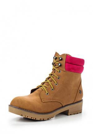 Ботинки Chika10. Цвет: горчичный