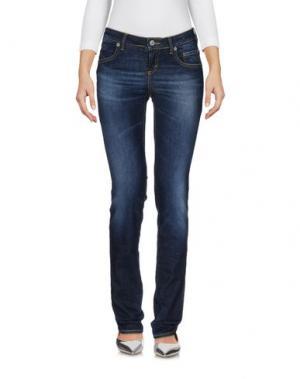 Джинсовые брюки SIVIGLIA. Цвет: синий