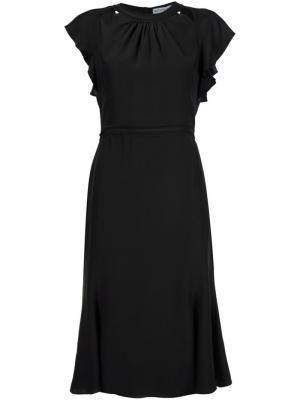 Платье с открытой спиной Altuzarra. Цвет: чёрный
