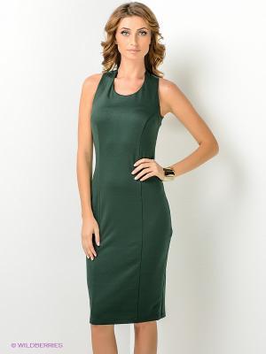Платье МадаМ Т. Цвет: темно-зеленый