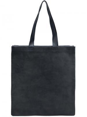 Большая сумка-тоут Isaac Reina. Цвет: синий