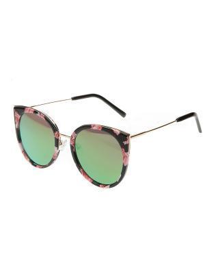 Солнцезащитные очки, iq format. Цвет: черный, белый, розовый
