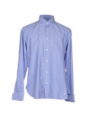 Pубашка DANOLIS. Цвет: пастельно-синий