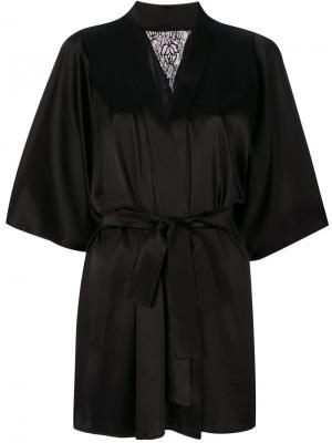 Nocturnal robe Fleur Of England. Цвет: чёрный