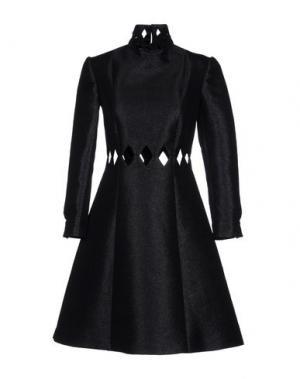 Короткое платье EMILIA WICKSTEAD. Цвет: черный