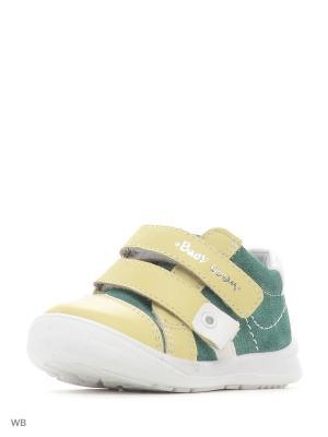 Ботинки San Marko. Цвет: желтый, зеленый