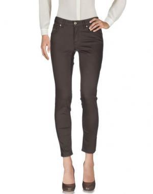 Повседневные брюки MARANI JEANS. Цвет: темно-коричневый