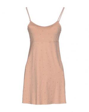 Короткое платье BY TI MO. Цвет: розовый