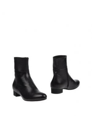 Полусапоги и высокие ботинки GUGLIELMO ROTTA. Цвет: черный