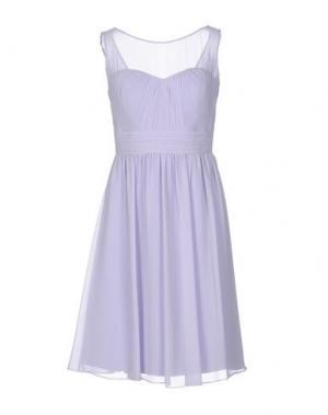 Платье до колена MUSANI COUTURE. Цвет: сиреневый