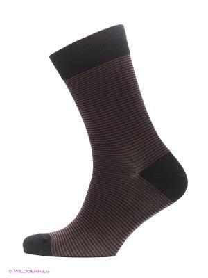 Носки Burlesco. Цвет: коричневый