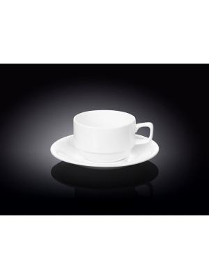 Кофейный набор Wilmax. Цвет: белый