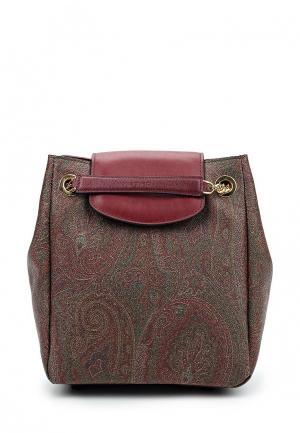 Рюкзак Etro. Цвет: коричневый