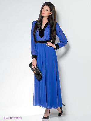 Платье Enna Levoni. Цвет: индиго