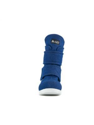 Ботинки AZ-ART. Цвет: синий