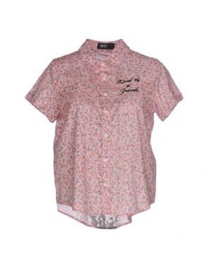 Pубашка IRON FIST. Цвет: розовый