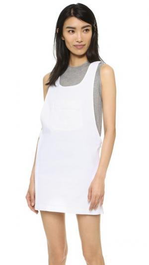 Платье Platonic Love Vale. Цвет: белый
