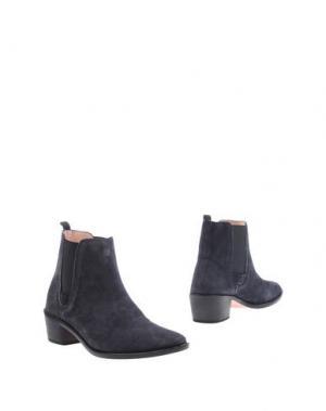 Полусапоги и высокие ботинки REPETTO. Цвет: темно-синий