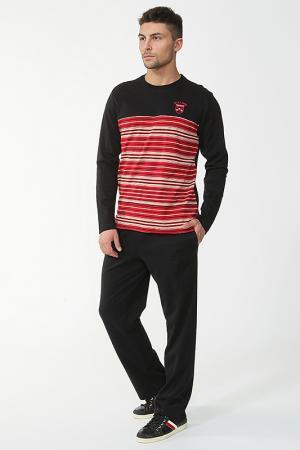 Пижама с брюками Relax Mode. Цвет: красный