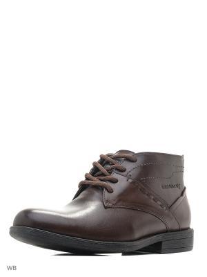 Ботинки BROADWAY.. Цвет: темно-коричневый