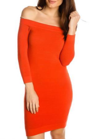 Платье GAZOIL. Цвет: оранжевый