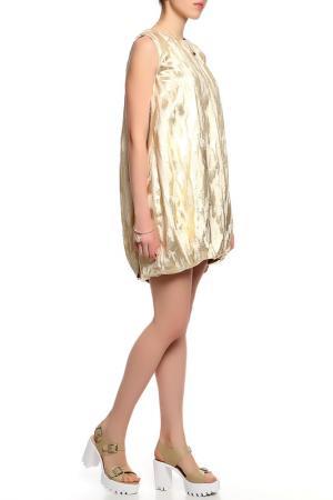Платье Irfe. Цвет: золотой
