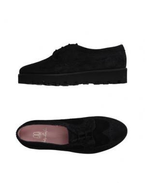 Обувь на шнурках PRETTY LOAFERS. Цвет: стальной серый