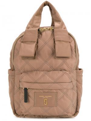 Стеганый рюкзак Marc Jacobs. Цвет: коричневый