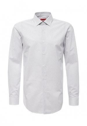 Рубашка Hugo Boss. Цвет: белый