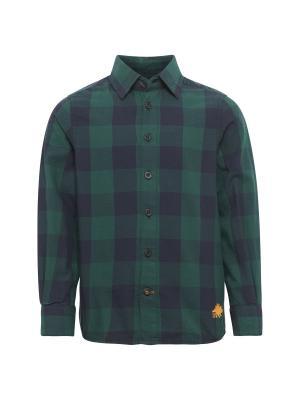 Рубашка TOM TAILOR. Цвет: зеленый