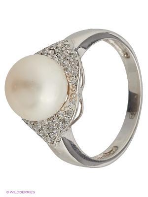 Кольцо BALEX. Цвет: белый, серебристый