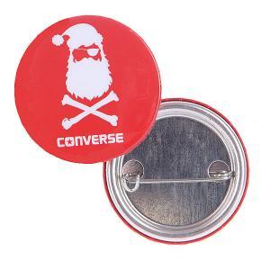 Значок  Santa - Подарок Converse
