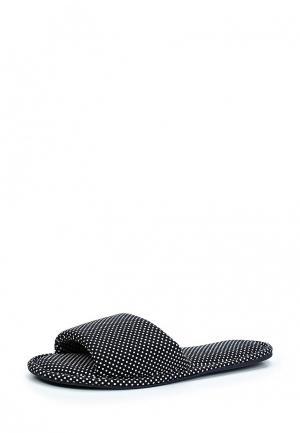Тапочки Marks & Spencer. Цвет: черный
