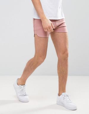 ASOS Розовые трикотажные шорты для бега. Цвет: розовый