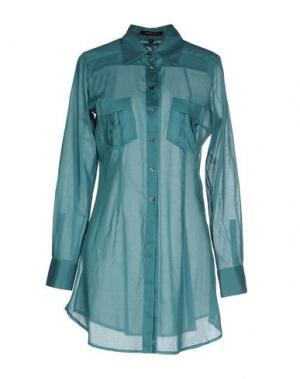 Pубашка WALTER VOULAZ. Цвет: бирюзовый