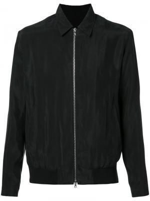Куртка-рубашка на молнии Harmony Paris. Цвет: чёрный